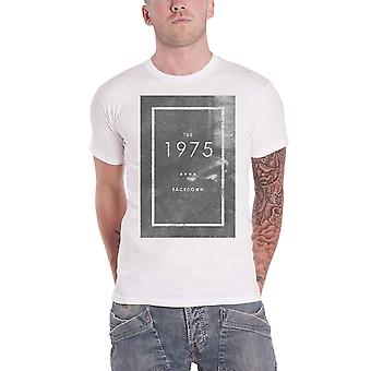The 1975 T Shirt Facedown Band Logo new Official Mens White