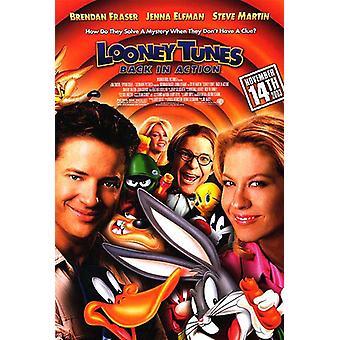 Looney Tunes: terug in actie (dubbelzijdig regelmatig) (2003) originele bioscoop poster