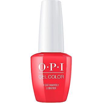 OPI GelColor Gel Color - Soak Off Gel Polish - I Eat Mainley Lobster 15ml (GC T30)