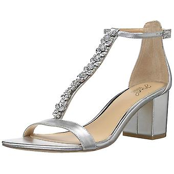 BADGLEY MISCHKA Womens Lindsey Fabric Open Toe Special Occasion Strappy Sandals