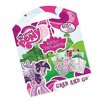 Grab & Go Stickers - My Little Pony New Decals Toys Games st9127