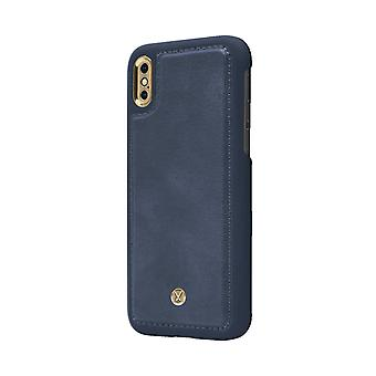 Marvêlle iPhone X/Xs Magnetic Case Blue Basic