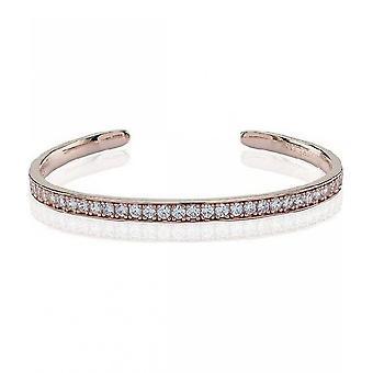 Sif Jacob's Bracelet Simeri Bangle Silver Collection SJ-BG004-CZ-RG