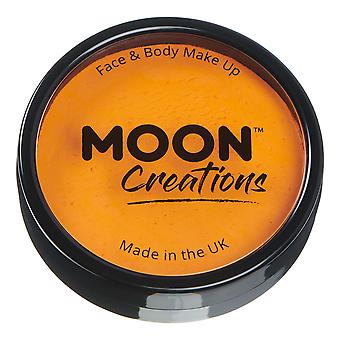 Moon Creations - Pro Face & Body Paint Cake Pots - Sunshine Orange