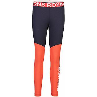 Mons Royale Women's Christy Legging - 9 Iron/Poppy
