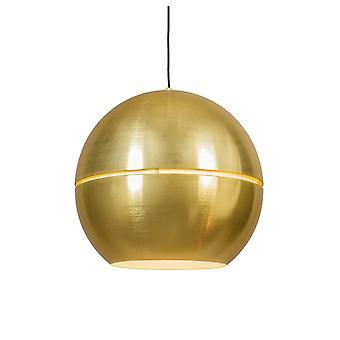 QAZQA Art Deco Hängelampe gold 50 cm - Scheibe