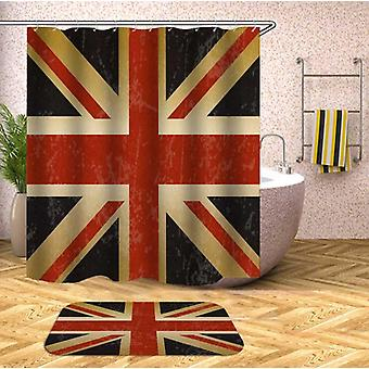 Ruwe Verenigd Koninkrijk vlag douche gordijn