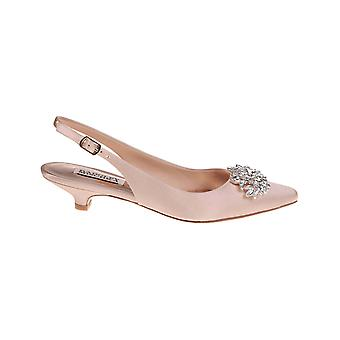 BADGLEY MISCHKA Womens Page Pump Square Toe SlingBack Classic Pumps