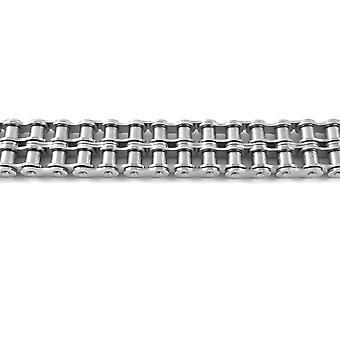 HTC 12B-2-SS British Standard (BS) Stainless Steel Duplex Roller Chain Pitch 15.875 mm 5 Metre