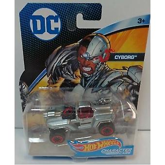 Hot Wheels DC Cars Cyborg Juguete