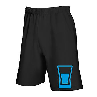 Pantaloncini tuta nero wes0334 vodka glas