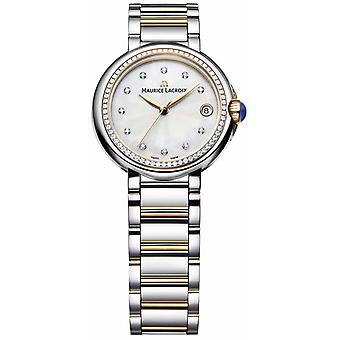 Maurice Lacroix Fiaba Womens Diamond Set Two Tone Mother Of Pearl FA1004-PVP23-170-1 Watch