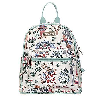Alice in wonderland casual daypack by signare tapestry / dapk-alice