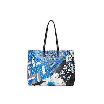 Desigual Women's Reversible Geopatch Seattle Shopper Bag & Small Bag