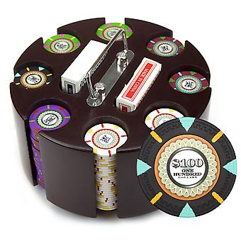 200Ct Claysmith Gaming 'The Mint' Chip Set in Carousel