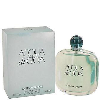 Acqua Di Gioia Eau De Parfum Spray By Giorgio Armani   464476 100 ml