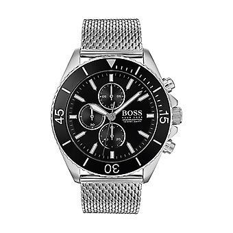 Hugo Boss ATHLEISURE 1513701 - horloge chronograaf armband mesh Milanese man