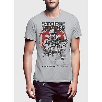 Storm trooper half sleeves tshirt