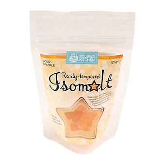 Squires Kitchen Ready-getemperd Isomalt 125g åÐ gouden Sparkle