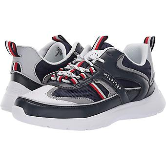 Tommy Hilfiger Femmes Cedro Tissu Low Top Lace Up Fashion Sneakers