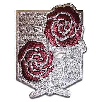 Patch - Attack on Titan - New Garrison Regiment Iron On Anime Toys ge44711