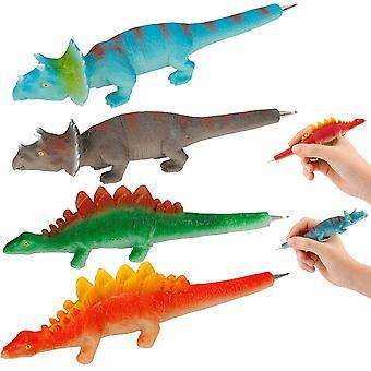 4-Pack Dino World 3D Pens Ink Pens Dinosaurs Figures