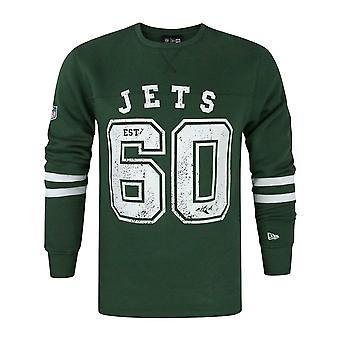 New Era NFL New York Jets Vintage Number Men's Sweater