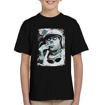 Motorsport Images Brabham Ice Lolly Lotus 24 Climax Kid's T-Shirt