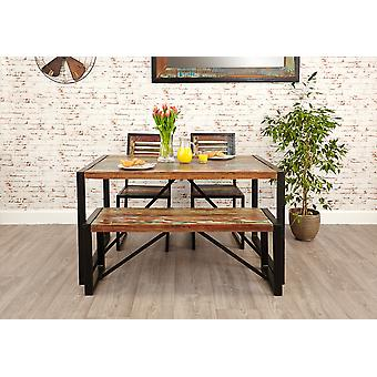 Urban Chic Small Dining Bench Brown - Baumhaus