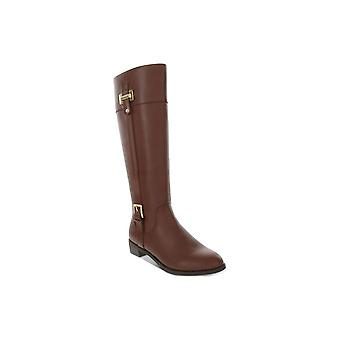 Karen Scott Womens Deliee Leather Closed Toe Knee High Fashion Boots
