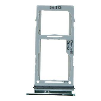 Dual Green SIM Card Tray For Samsung Galaxy S10/S10 Plus