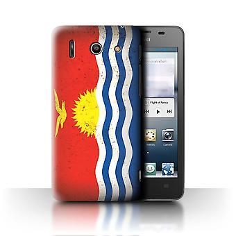 STUFF4 Fall/Abdeckung für Huawei Ascend G510/Kiribati/Oceania Flagge