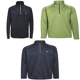 Trespass męskie Collins Half Zip Polary Top