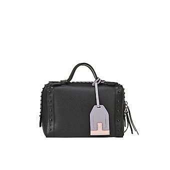 Tod's Ezgl027049 Women's Black Leather Shoulder Bag