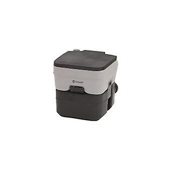 Outwell grey 20l portable camping toilet