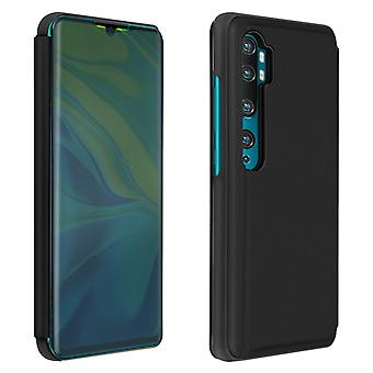 Flip Case, Mirror Case for Xiaomi Mi Note 10 / Note 10 Pro, Standing Cover Black