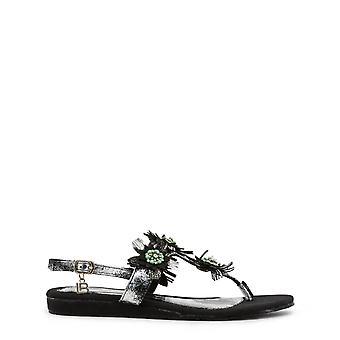 Laura Biagiotti Original Women Spring/Summer Sandals - Black Color 31738