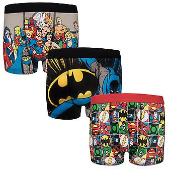 DC Comics Batman Superman oficiálny darček 3 Pack chlapci boxer šortky
