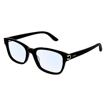 Cartier C decor CT0133O 005 Black Glasses