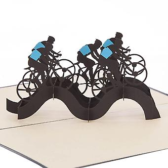 Cardology Cycling Pop Up Card