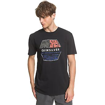 Quiksilver Mænd's T-shirt ~ Drift Away sort