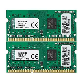 Kingston Simm RAM Memory, SO DDR3, PC1333, 8GB, CL9 K, Black