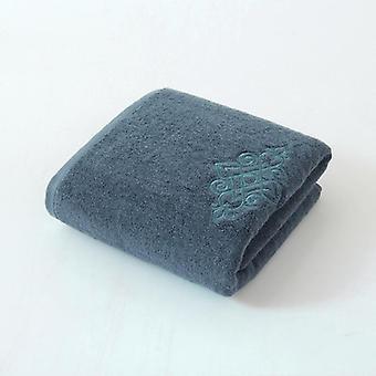 Toalla con bordado 100% algodón 75x35 cm