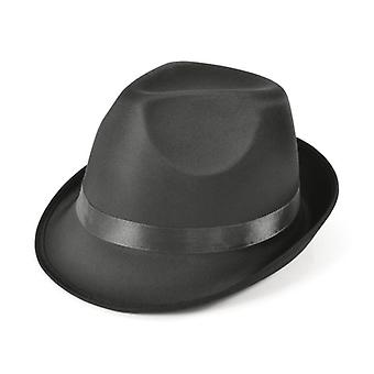 Madness Hat. Sort Fedora