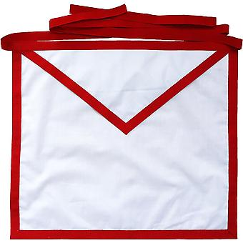 Masonic hellige kongelige bue hvid bomuld andeklud medlem forklæde