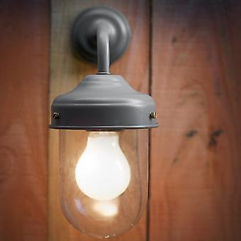 Garden Trading Barn Outdoor Wall Lamp In Charcoal