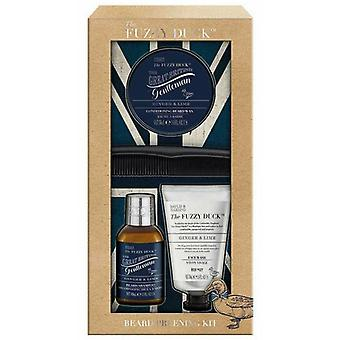 Baylis & Harding Fuzzy Duck Kit Ginger-Lime Beard for Men