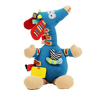 Dolce Musical Giraffe Soft Baby Activity Toy