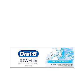 Oral-b 3d White Cuidado Esmalte Pasta Dentífrica 75 Ml Unisex