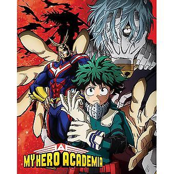 Oma Hero Academia Heroes Nemesis Mini Juliste